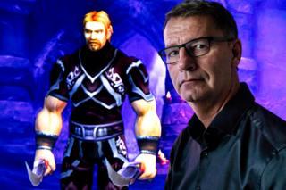 Ibelin, personagem de Mats em World of Warcraft, e Robert Steen