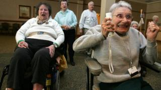 Wii in a retirement home