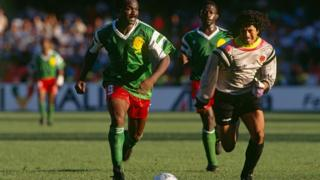 Le Cameroun de Roger Milla avait fait sensation à la Coupe du monde en 1990.