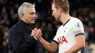 Jose Mourinho na Harry Kane