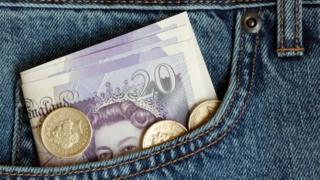 £20 in pocket