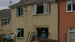 Explosion house, High Nash, Coleford, Gloucestershire