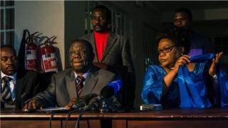 Wanasiasa hao wameungana dhidi ya Rais Mugabe