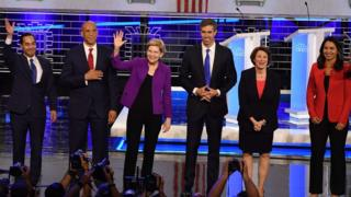 US Democrats battle in high stakes TV debate
