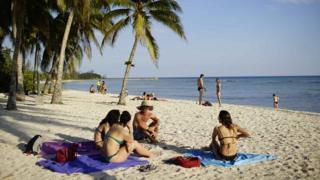 क्यूबा का समुद्र तट