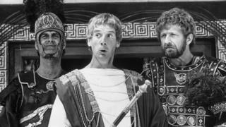 John Cleese, Michael Palin and Graham Chapman in Monty Python's Life of Brian