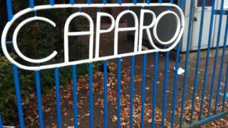 Caparo gate