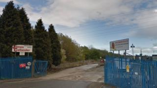Jobs Lost As James Callander Timber Firm Collapses Bbc News