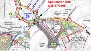 Junction 25 M5 upgrade