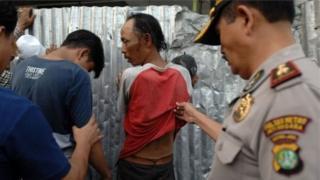 Chính quyền Indonesia nói cảnh sát được chỉ đạo dùng vũ lực nếu có sự chống cự.