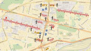 Карта маршрутів