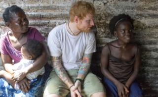 Ed Sheeran and Peaches