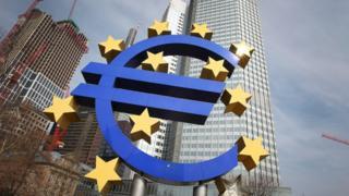 Avrupa Merkez Bankası logosu
