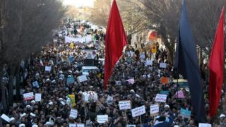 Protes di Iran