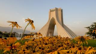 Azadi (Freedom) Tower in Tehran