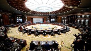 Церемония открытия саммита G20 в Ханчжоу