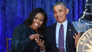 मिशेल आणि बराक ओबामा