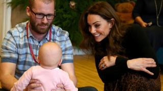 science The Duchess of Cambridge leaves Caerau Children's Centre in Cardiff