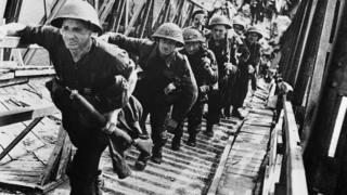 Iskrcavanje britanskih trupa
