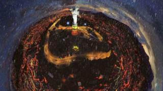 Virgen de El Panecillo 360, vista desde un dron.