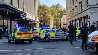 Police in Kensington