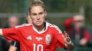Capten Cymru Jess Fishlock
