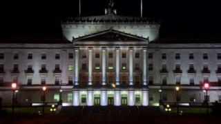 Stormont at night (archive)