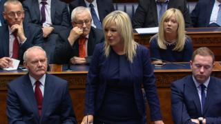 Michelle O'Neill is Northern Ireland's new Health Minister