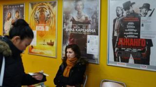 تابلو های آگهی فیلم های روسی