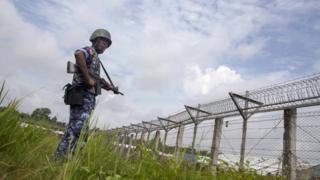 မြန်မာ - ဘင်္ဂလားဒေ့ရှ်နယ်စပ်