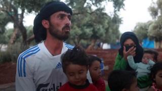 """إدلب: """"لا يمكن استيعاب أي عائلة جديدة"""" في مخيم أطمة"""