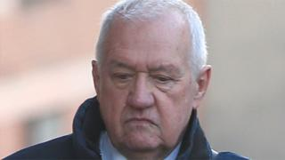 David Duckenfield arriving at court