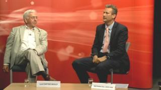 Dafydd Wigley and Nathan Gill