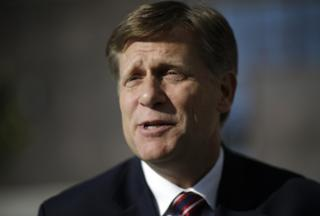 Michael McFaul pictured in Sochi, Russia, on February 7, 2014.