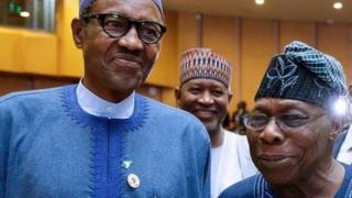 Aarẹ Buhari ati Oloye Ọbasanjọ ipade ajọ isọkan awọn orilẹede Afrika, AU