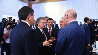 Мирзиёев, Назарбоев