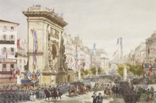Queen Victoria's entry into Paris