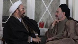 محمد خاتمی و علی یونسی