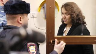 Мисюрина в суде
