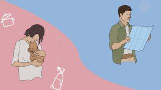 Жінка і чоловік