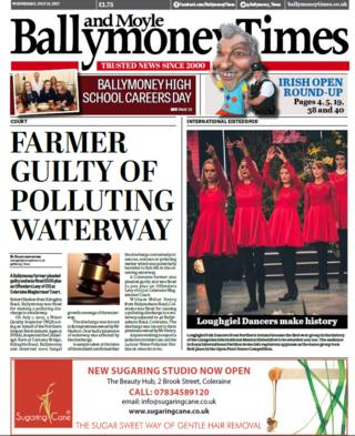 Ballymoney and Moyle Times