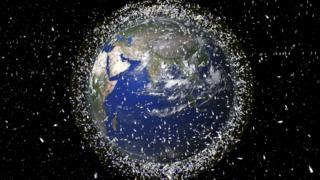 स्पेस कचरा