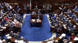 the Dáil