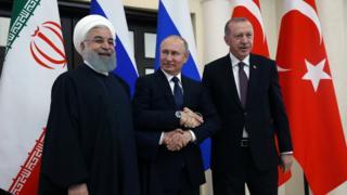 این چهارمین دور نشست سران سه کشور برای بررسی بحران سوریه است