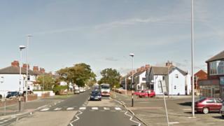 Marton Drive in Blackpool