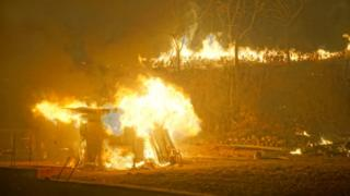 산불로 인한 국가재난사태 선포는 2005년 4월 이후 처음 있는 일이다