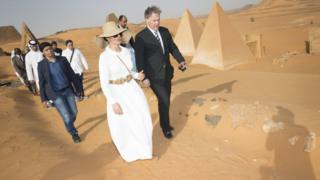 Катарская принцесса в Судане