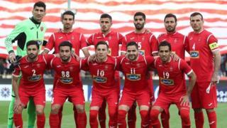 تیم فوتبال پرسپولیس برای دومین سال پیاپی قهرمان لیگ برتر ایران شد
