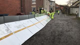 flood barriers