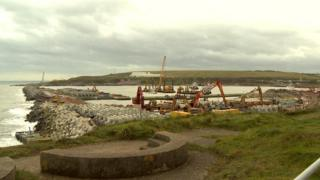 Harbour expansion work